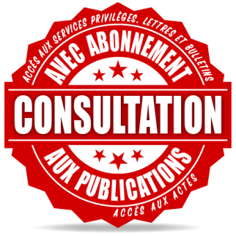 Consultation et publications